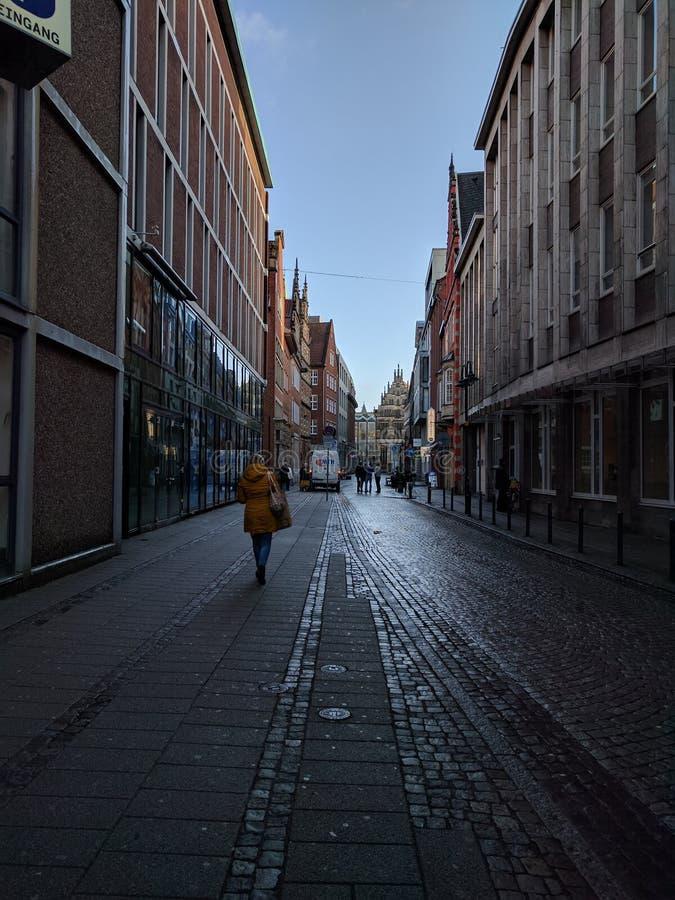 Οδός/Βρέμη/κέντρο της πόλης στοκ εικόνες