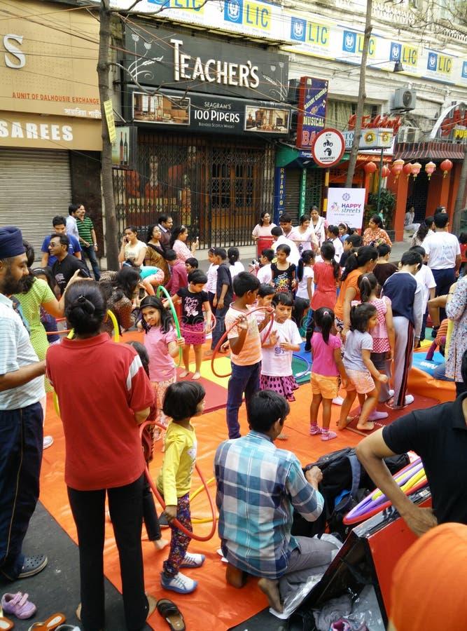 Οδός καρναβάλι στοκ εικόνα