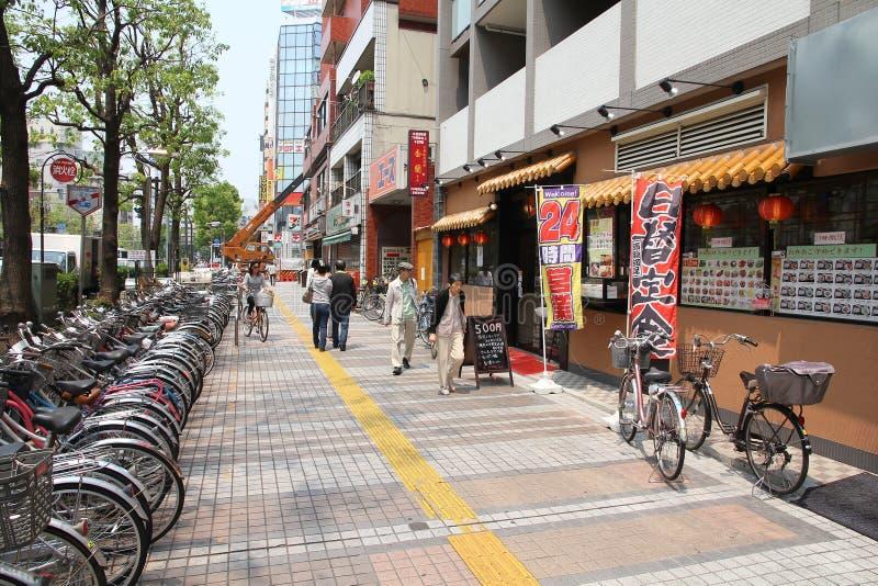 Οδός σε Kawasaki, Ιαπωνία στοκ εικόνες