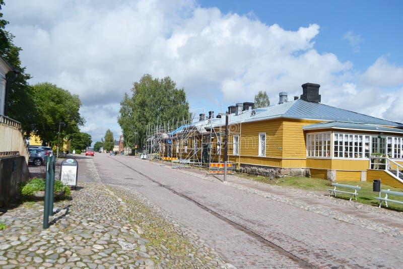 Οδός σε Lappeenranta, Φινλανδία στοκ εικόνες