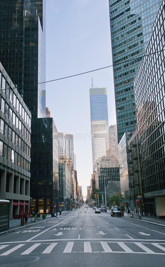 Οδός στην πόλη της Νέας Υόρκης στοκ φωτογραφία