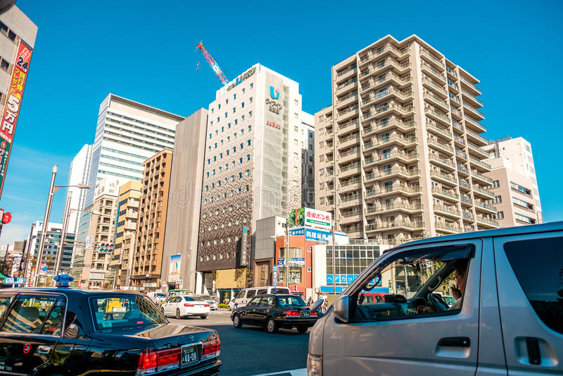 Οδός της Ιαπωνίας στοκ εικόνες με δικαίωμα ελεύθερης χρήσης