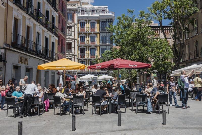 οδός της Μαδρίτης στοκ εικόνα με δικαίωμα ελεύθερης χρήσης