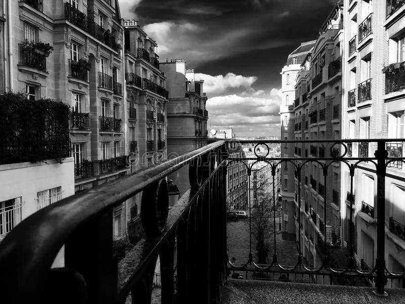 οδός του Παρισιού στοκ εικόνες