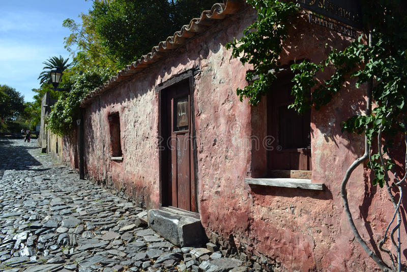 Οδός του Σακραμέντο Colonia del στοκ εικόνες με δικαίωμα ελεύθερης χρήσης