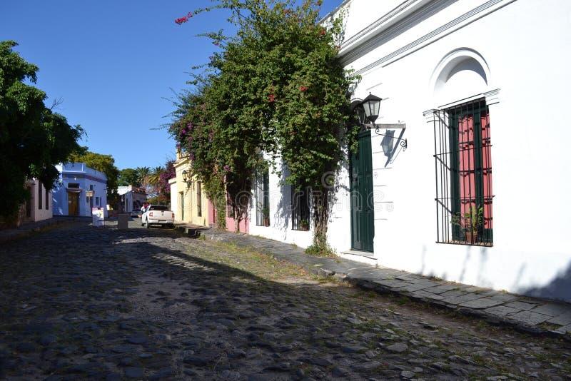 Οδός του Σακραμέντο Colonia del στοκ εικόνα