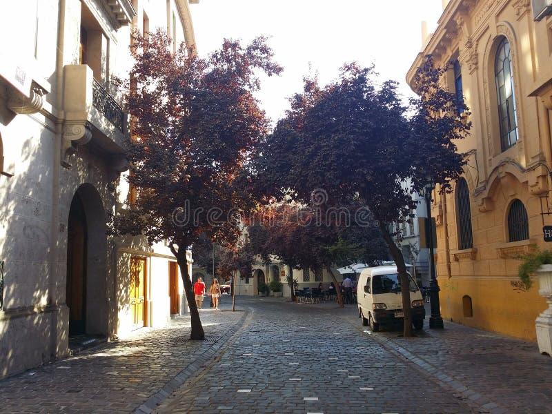 Οδός του Σαντιάγο στοκ φωτογραφίες