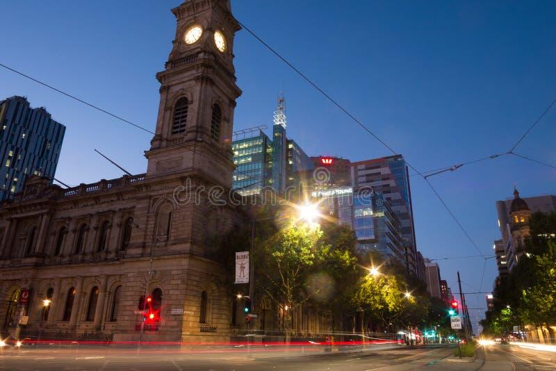 Οδός του William βασιλιάδων στην Αδελαΐδα, Νότια Αυστραλία στοκ φωτογραφίες με δικαίωμα ελεύθερης χρήσης