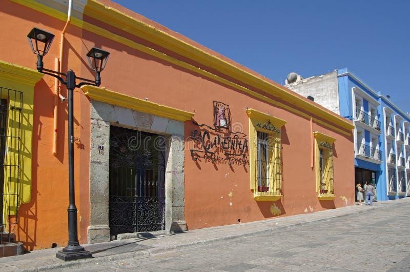 Οδός Oaxaca στοκ φωτογραφία με δικαίωμα ελεύθερης χρήσης