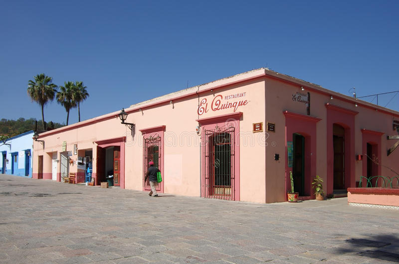 Οδός Oaxaca στοκ φωτογραφία