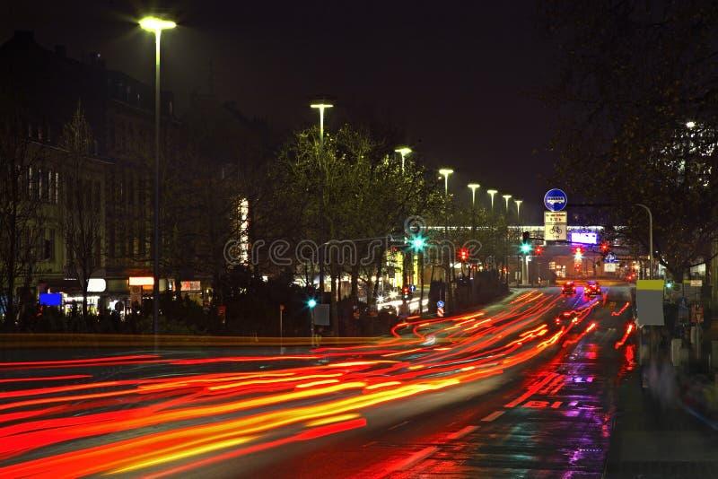Οδός Schwalbacher στο Βισμπάντεν Γερμανία στοκ φωτογραφίες