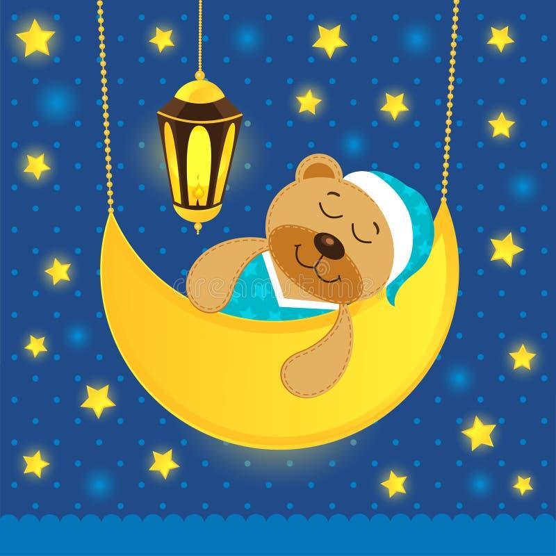 Ο ύπνος teddy αντέχει απεικόνιση αποθεμάτων