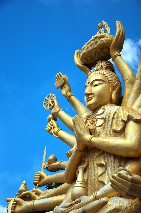 ο 01 οπλισμένος Βούδας πο&lam στοκ εικόνες