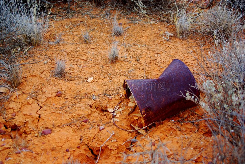 ο Billy ράγισε τη λάσπη ερήμων στοκ εικόνα