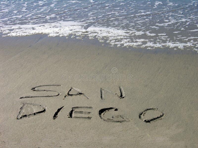 ο Diego SAN σας καλωσορίζει στοκ εικόνες
