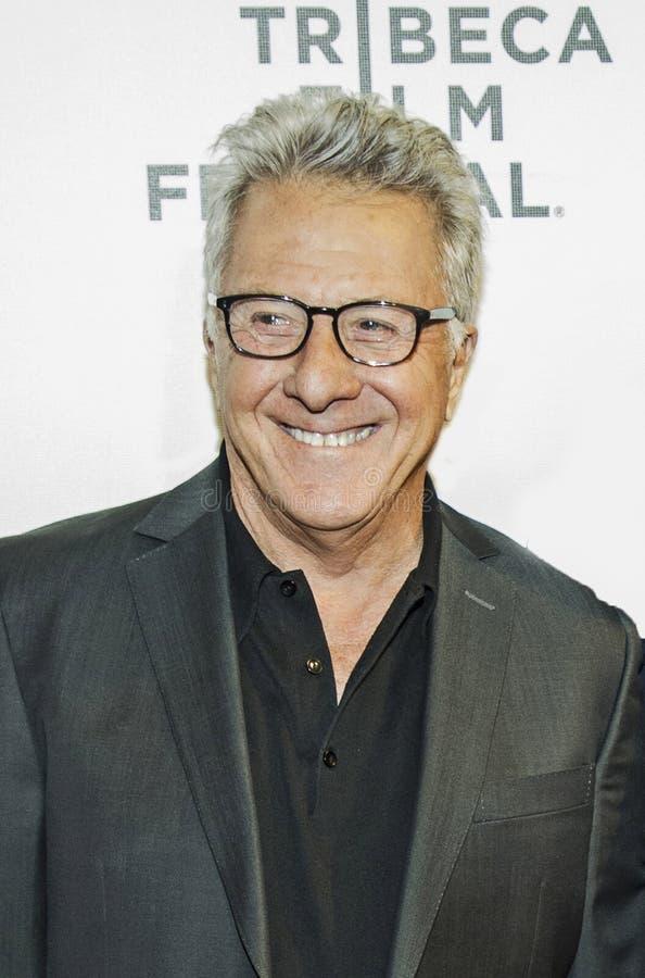 Ο Dustin Hoffman φθάνει στο φεστιβάλ ταινιών Tribeca του 2017 στοκ φωτογραφία