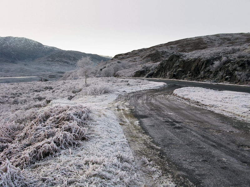 ο Garry ο χειμώνας της Σκωτία&sigma στοκ εικόνες