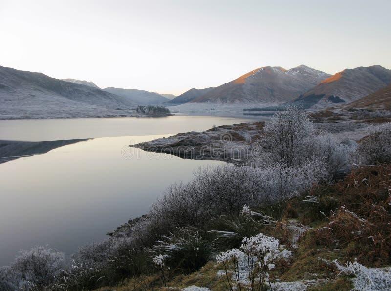ο Garry ο χειμώνας της Σκωτία&sigma στοκ εικόνα