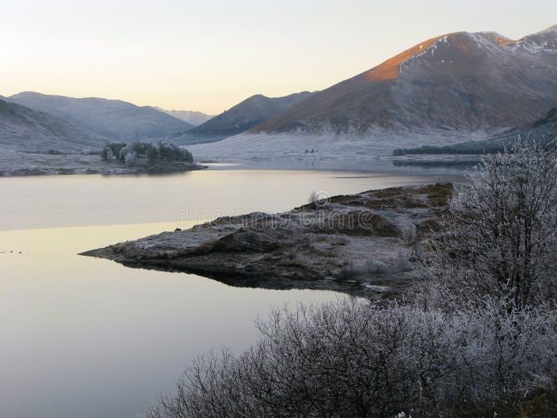 ο Garry ο χειμώνας της Σκωτία&sigma στοκ εικόνα με δικαίωμα ελεύθερης χρήσης
