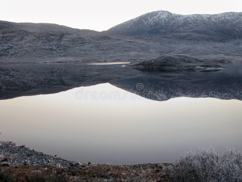 ο Garry ο χειμώνας της Σκωτία&sigma στοκ εικόνες με δικαίωμα ελεύθερης χρήσης