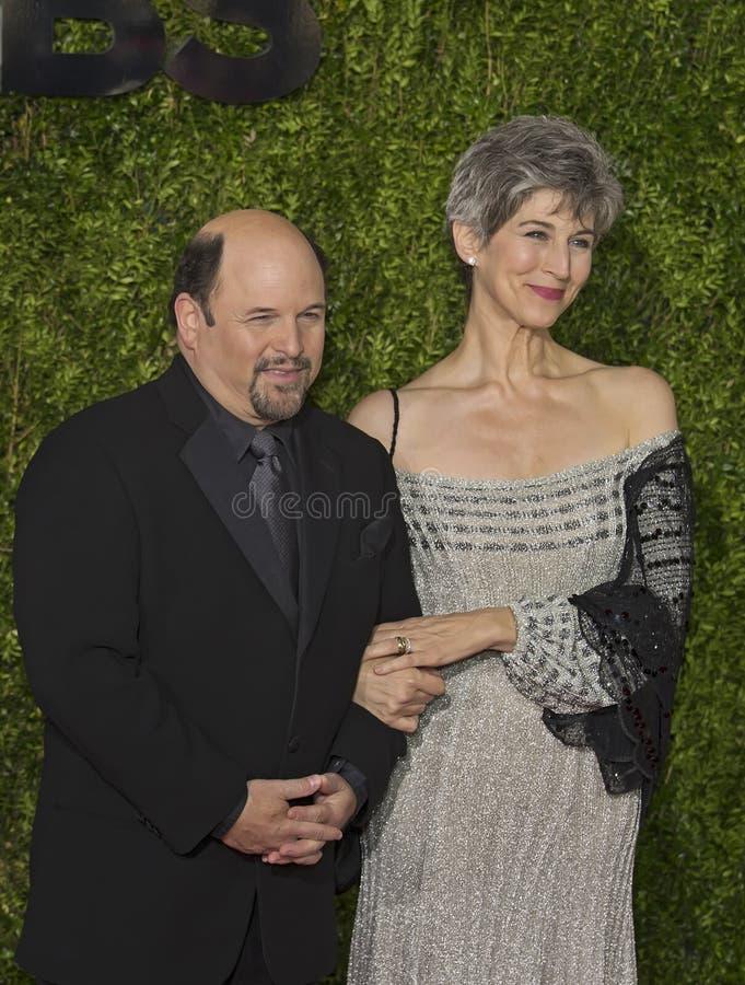 Ο Jason Αλέξανδρος φθάνει σε 2015 βραβείο Tony στοκ φωτογραφία με δικαίωμα ελεύθερης χρήσης