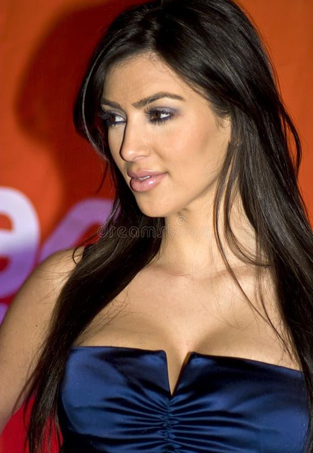 ο kardashian Kim στοκ φωτογραφίες