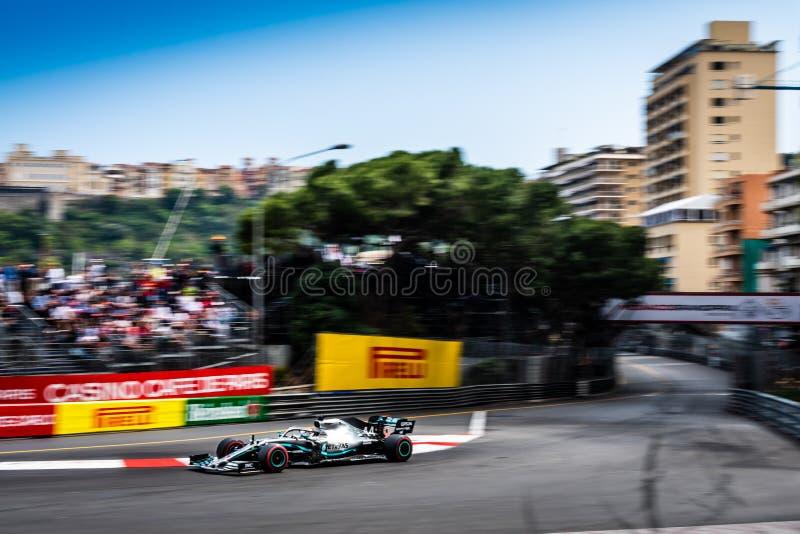 #44 ο Lewis ΧΑΜΙΛΤΟΝ GBR, Mercedes, W10 σε Sainte αφιερώνει στοκ φωτογραφία