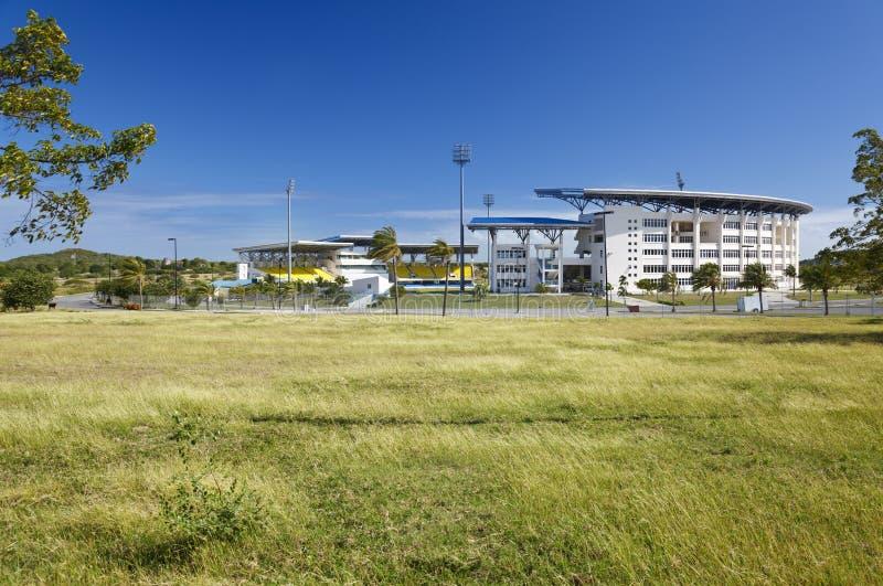 Ο Sir Vivian Richards Cricket Stadium, Αντίγκουα στοκ φωτογραφία με δικαίωμα ελεύθερης χρήσης