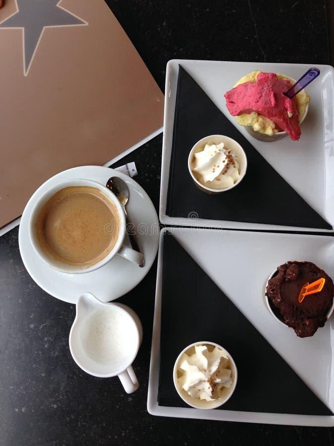 πάγος κρέμας καφέ στοκ φωτογραφίες με δικαίωμα ελεύθερης χρήσης