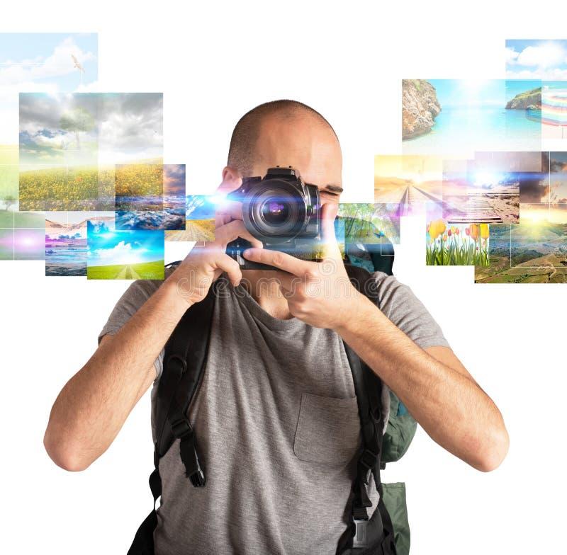 Πάθος για τη φωτογραφία στοκ εικόνα με δικαίωμα ελεύθερης χρήσης