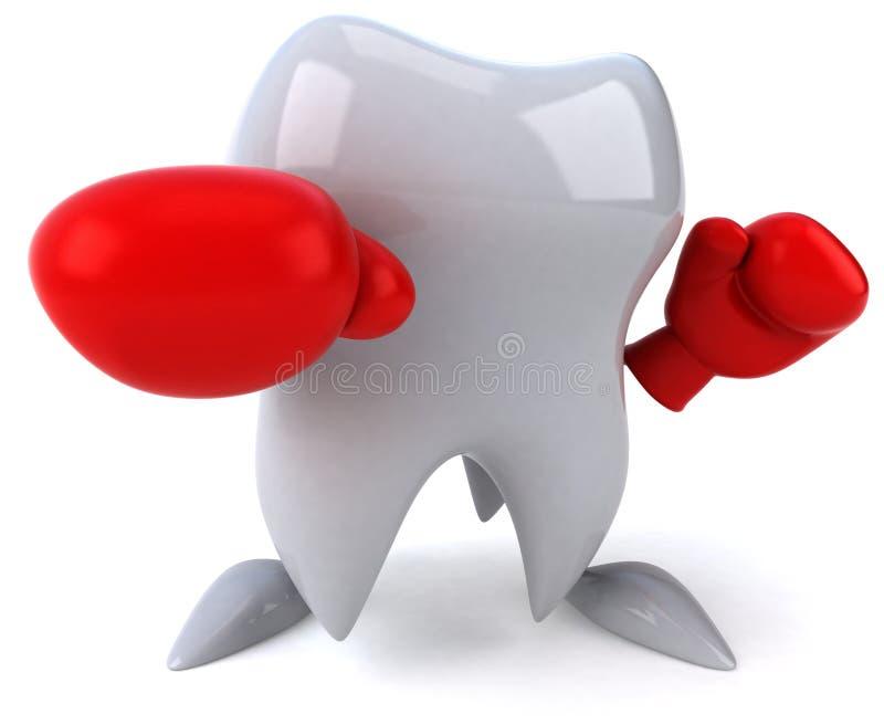 πάλη έτοιμη στο δόντι ελεύθερη απεικόνιση δικαιώματος