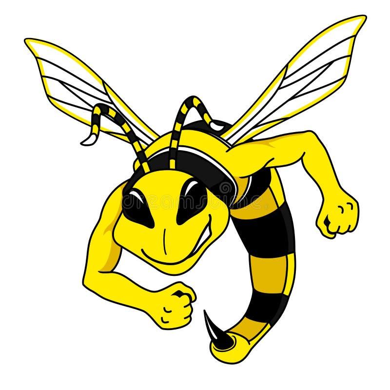 Πάλη Hornet διανυσματική απεικόνιση