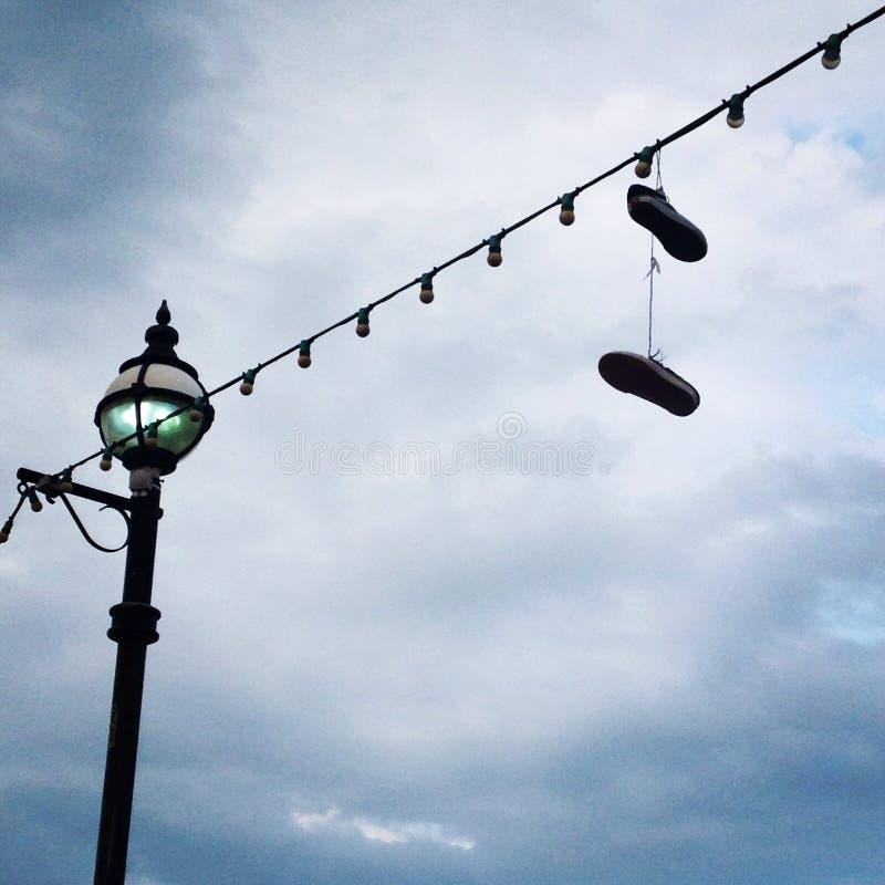 Πάνινα παπούτσια παραλιών στοκ φωτογραφία