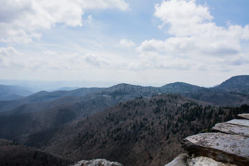 Πάνω από το βουνό στοκ εικόνες