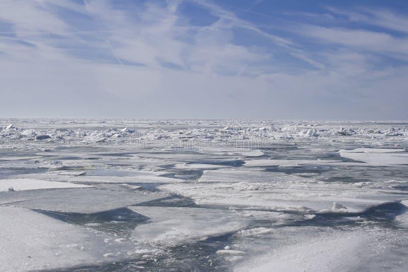 πάπλωμα πάγου στοκ φωτογραφίες