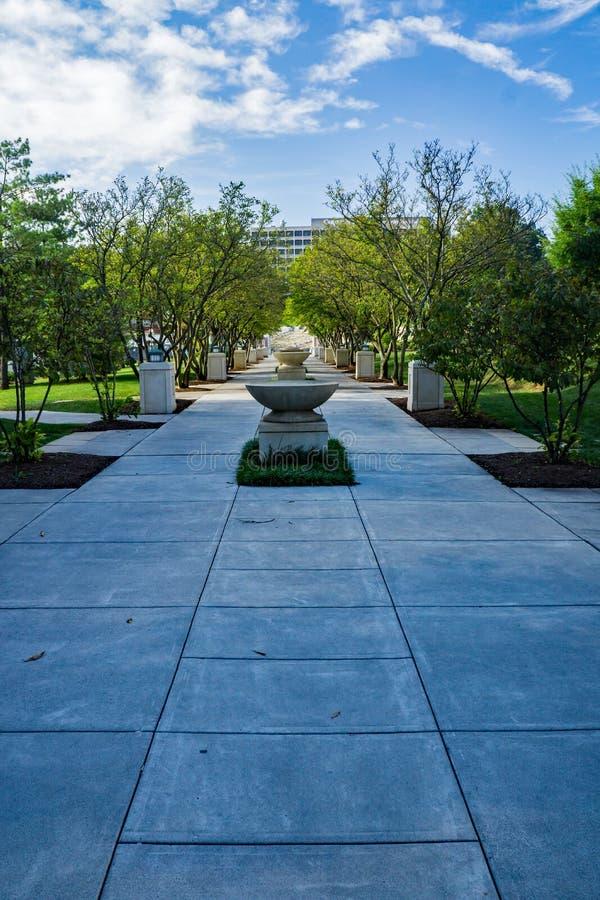 Πάρκο †«Roanoke, VA, ΗΠΑ Elmwood στοκ εικόνα