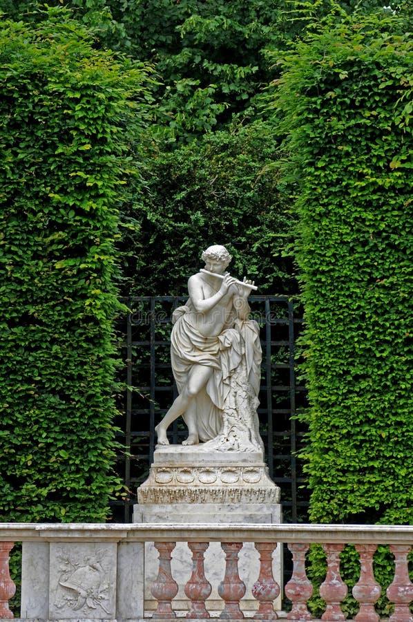 πάρκο Βερσαλλίες παλατ&io στοκ φωτογραφία με δικαίωμα ελεύθερης χρήσης