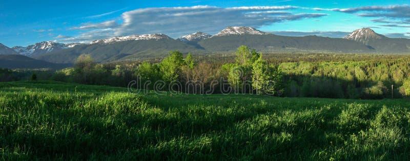 Πάρκο βουνών Babine - βόρειος Π.Χ. Καναδάς στοκ εικόνες με δικαίωμα ελεύθερης χρήσης