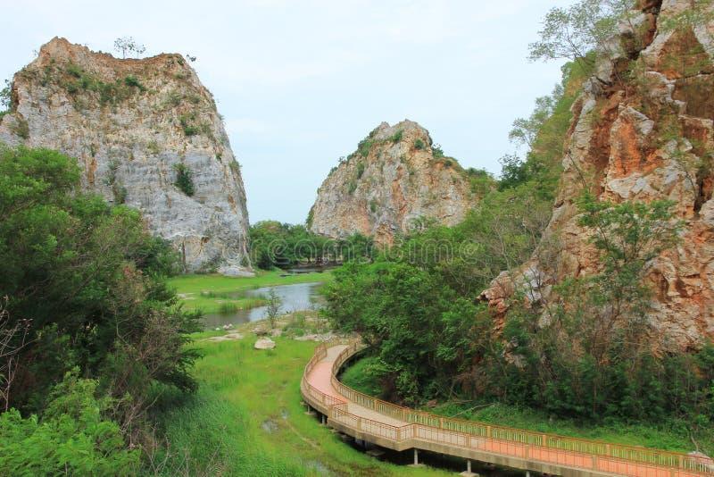 Πάρκο βράχου φιδιών Hin Khao στοκ εικόνες