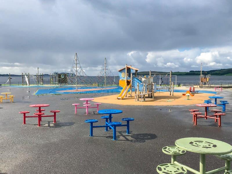 Πάρκο δραστηριότητας παιχνιδιού παιδιών ` s Colourfull στοκ φωτογραφία με δικαίωμα ελεύθερης χρήσης