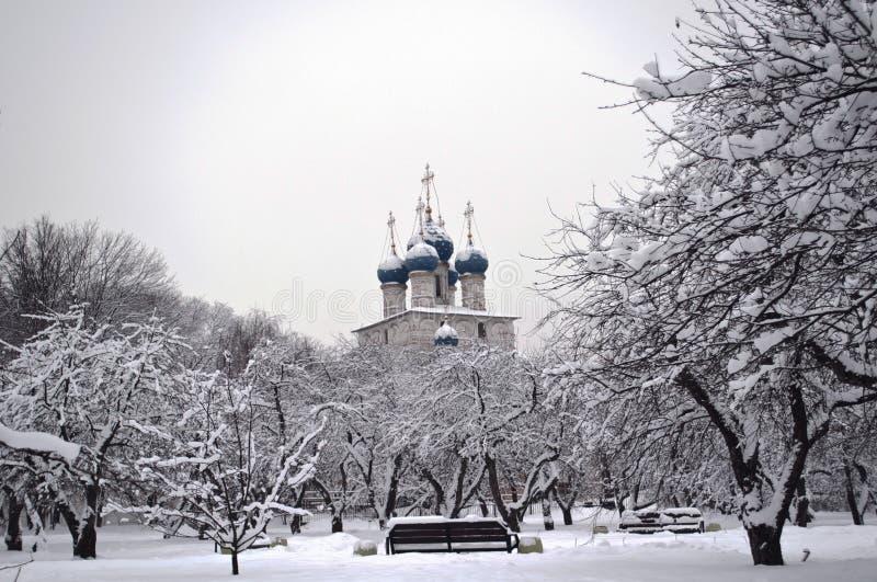 Download πάρκο εκκλησιών χιονώδε&sigma Στοκ Εικόνες - εικόνα από διακλαδιμένος, τοπίο: 22782144