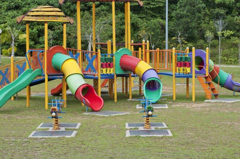 πάρκο εξοπλισμού διασκέ&delta στοκ φωτογραφία με δικαίωμα ελεύθερης χρήσης