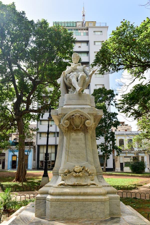 Πάρκο Θερβάντες - Αβάνα, Κούβα στοκ εικόνες με δικαίωμα ελεύθερης χρήσης