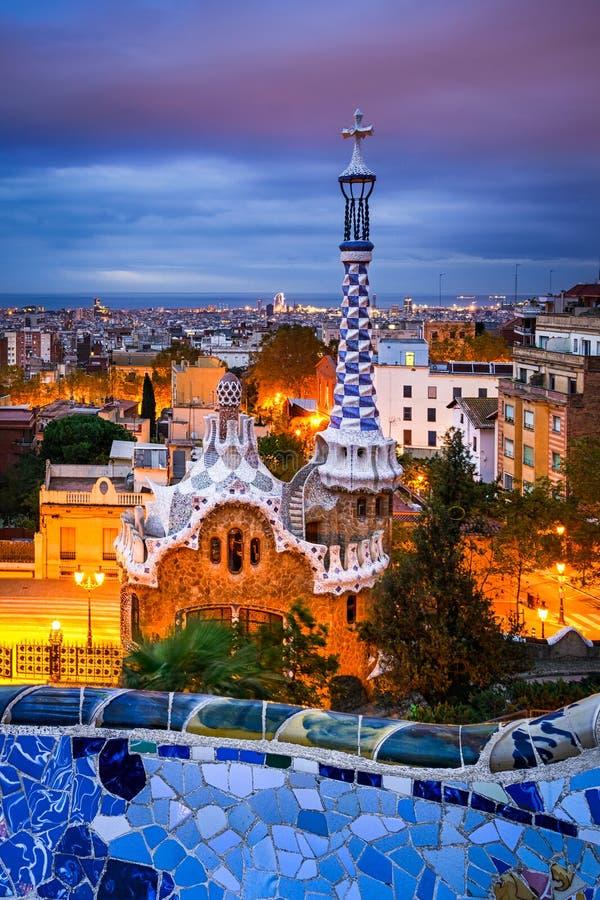 πάρκο Ισπανία της Βαρκελών στοκ φωτογραφίες