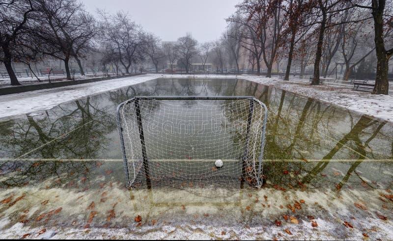 Πάρκο κάτω από το νερό στοκ φωτογραφίες