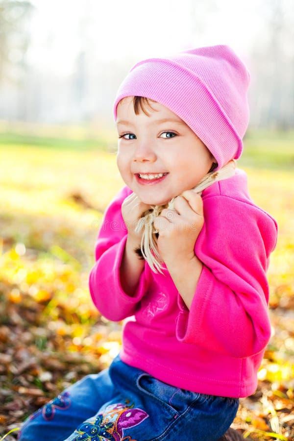πάρκο κοριτσιών στοκ φωτογραφίες