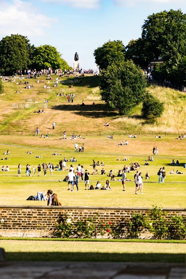 Πάρκο Λονδίνο του Γκρήνουιτς στοκ φωτογραφίες