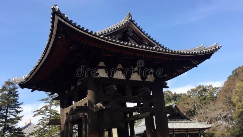 πάρκο ναών του Νάρα στοκ εικόνα με δικαίωμα ελεύθερης χρήσης