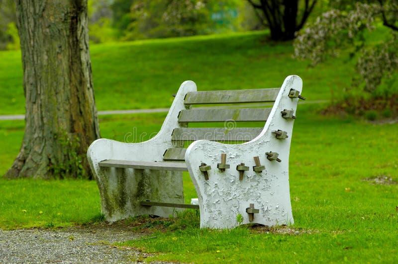 Download πάρκο πάγκων στοκ εικόνα. εικόνα από καθίστε, leisure, κατανάλωση - 120113