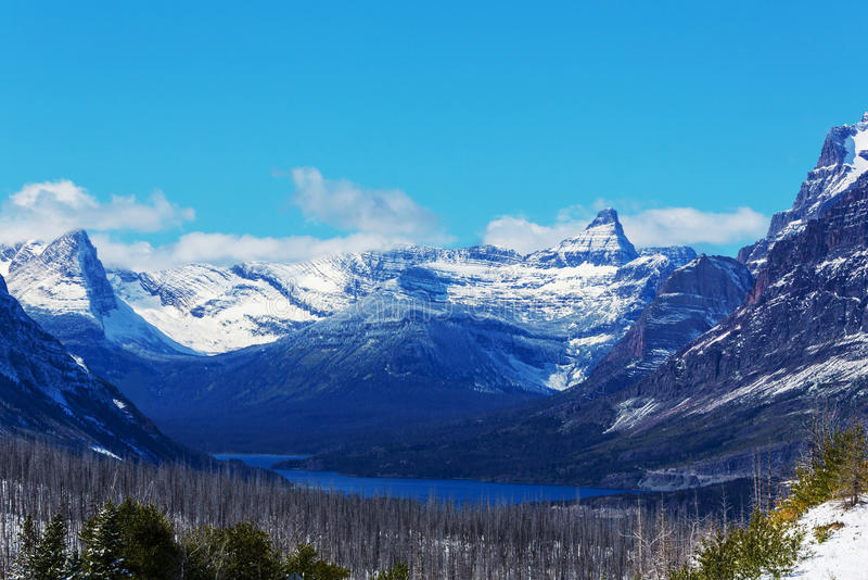 Πάρκο παγετώνων στοκ εικόνα με δικαίωμα ελεύθερης χρήσης
